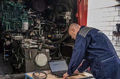 Nico van Deursen, salesmanager drainagemachineproducent Inter-Drain